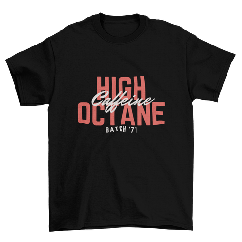 High octane caffeine - Premium Tee - Caffeination World