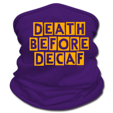 Load image into Gallery viewer, Death before decaf - Multifunctional Scarf - Caffeination World