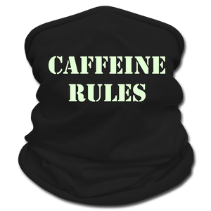 Caffeine rules - Multifunctional Scarf - Caffeination World
