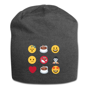Coffee emojis - Jersey Beanie - Caffeination World