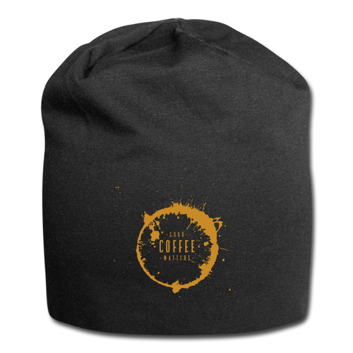 Good coffee matters - Jersey Beanie - Caffeination World