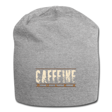 Load image into Gallery viewer, Caffeine rules - Jersey Beanie - Caffeination World