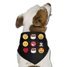 Load image into Gallery viewer, Coffee emojis - Dog Bandana - Caffeination World