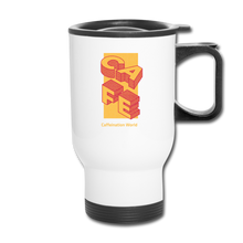 Load image into Gallery viewer, Cafe - Travel Mug - Caffeination World