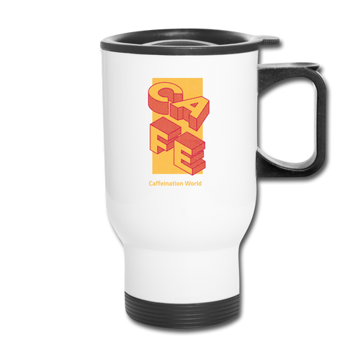 Cafe - Travel Mug - Caffeination World