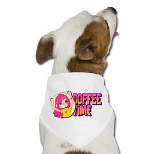 Coffee time - Dog Bandana - Caffeination World