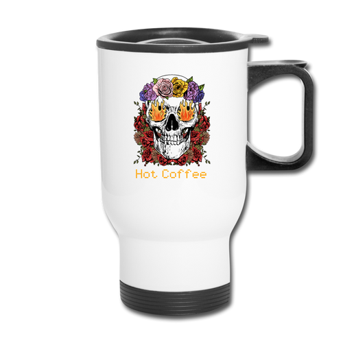 Hot coffee - Travel Mug - Caffeination World
