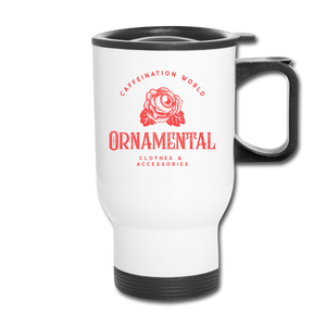 Ornamental - Travel Mug - Caffeination World