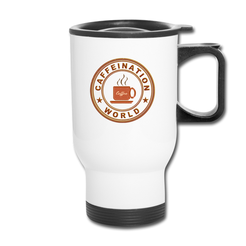 Caffeination world - Travel Mug - Caffeination World