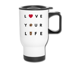 Load image into Gallery viewer, Love your life - Travel Mug - Caffeination World