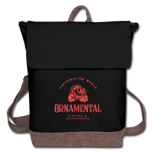 Load image into Gallery viewer, Ornamental - Canvas Backpack - Caffeination World