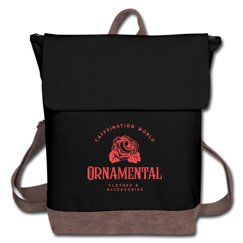 Ornamental - Canvas Backpack - Caffeination World