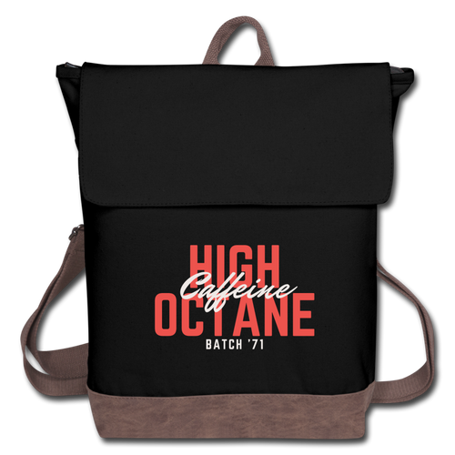 High-octane caffeine - Canvas Backpack - Caffeination World