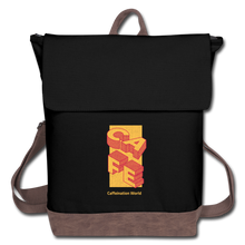 Load image into Gallery viewer, Cafe - Canvas Backpack - Caffeination World
