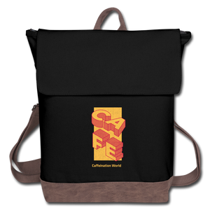 Cafe - Canvas Backpack - Caffeination World