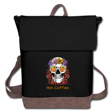 Load image into Gallery viewer, Hot coffee - Canvas Backpack - Caffeination World
