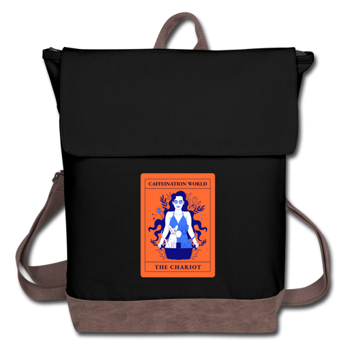 The Chariot - Canvas Backpack - Caffeination World