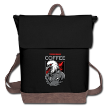 Load image into Gallery viewer, Tough boss coffee - Canvas Backpack - Caffeination World