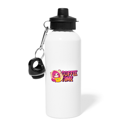 Coffee time - Water Bottle - Caffeination World