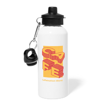 Load image into Gallery viewer, Cafe - Water Bottle - Caffeination World
