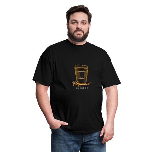Happiness on the go - Classic T-shirt - Caffeination World