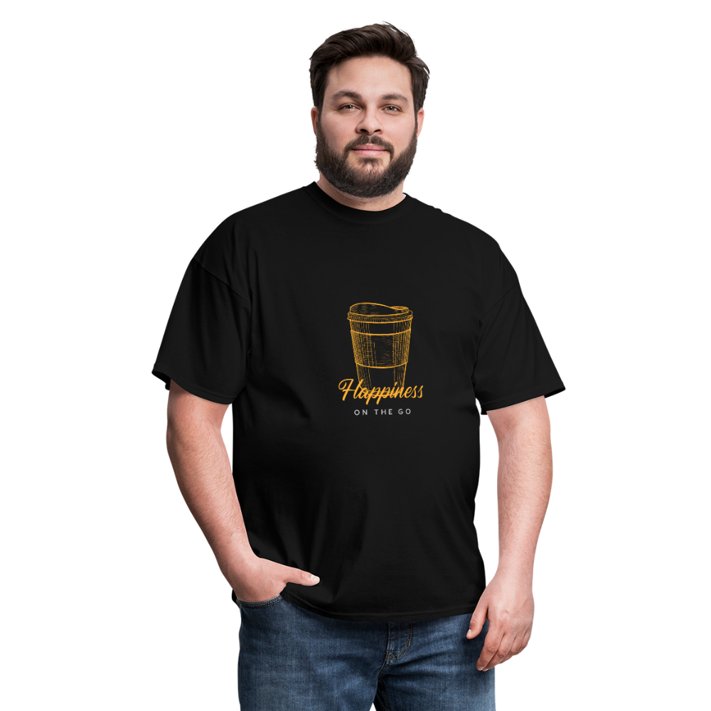Happiness on the go - Classic Tee - Caffeination World