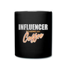 Load image into Gallery viewer, Influencer powered by coffee - Full Color Mug - Caffeination World