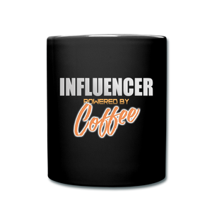 Influencer powered by coffee - Full Color Mug - Caffeination World