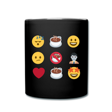 Load image into Gallery viewer, Coffee emojis - Full Color Mug - Caffeination World