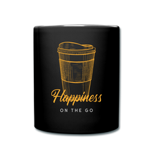 Load image into Gallery viewer, Happiness on the go - Full Color Mug - Caffeination World
