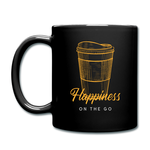 Happiness on the go - Full Color Mug - Caffeination World