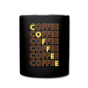 Coffee matrix - Full Color Mug - Caffeination World