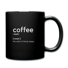 Load image into Gallery viewer, Coffee definition - Full Color Mug - Caffeination World