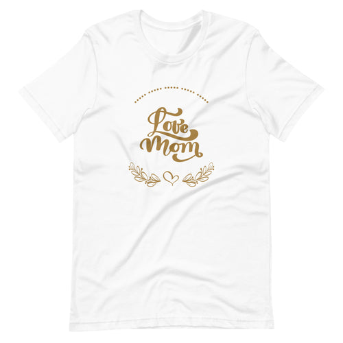 Love Mom - Classic T-Shirt - Caffeination World