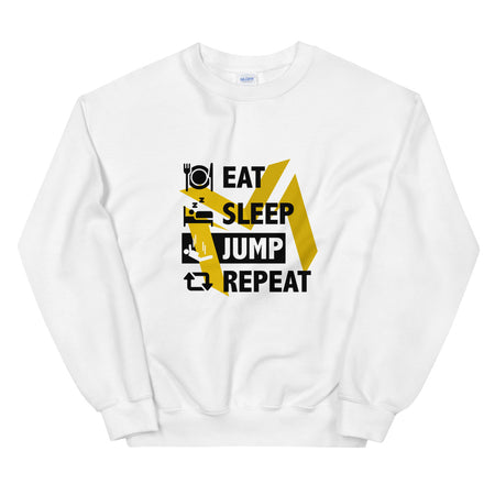 Sweatshirt | Eat Sleep Jump Repeat