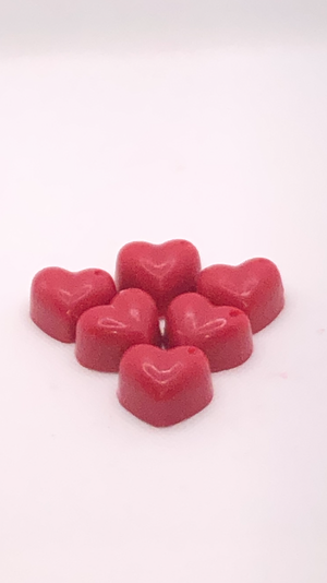 Heart wax melts