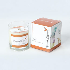 Musk and Sandalwood Candle