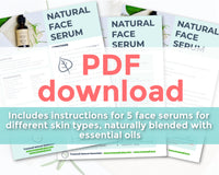 Natural Face Serum Recipe