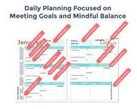 Quarter 2 2020 Mindful Mompreneur Day Planner and Goal Tracker