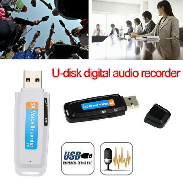 USB Voice Audio Activated Recorder