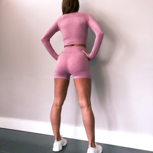 Victory Seamless - Pink Marl