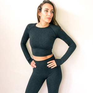 Victory Seamless - Black Marl