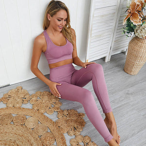 True Form Yoga Set (Leggings + Top)