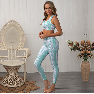 Mint Dot Set (Leggings + Top)