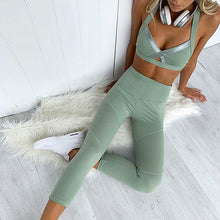 Load image into Gallery viewer, Mint Aero Leggings