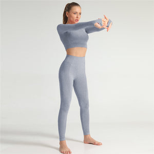 Slim Fit Set (Leggings + Top)