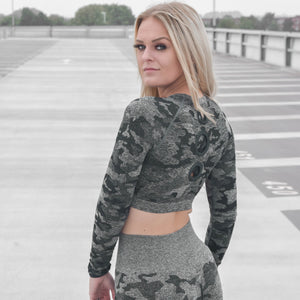 Classic Camo Long Sleeve Top