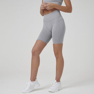 Signature Ribbed Seamless Bike Shorts