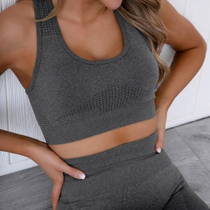 Athena Seamless Crop Top