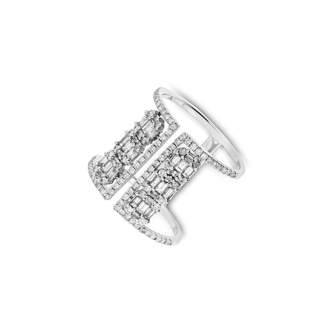 DD Lux  18K White Gold Diamond 1.06ct